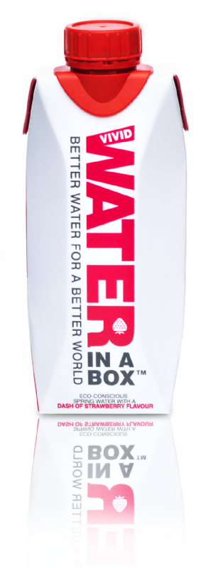 Water in a Box Strawberry 330ml x 12